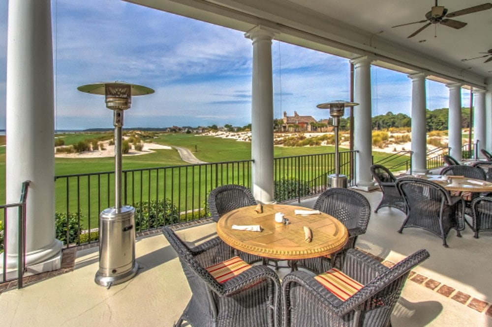 Colleton River clubhouse dining